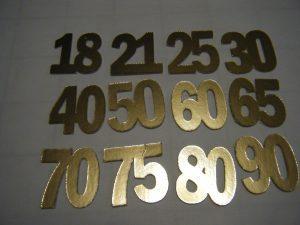 Mirror board numbers