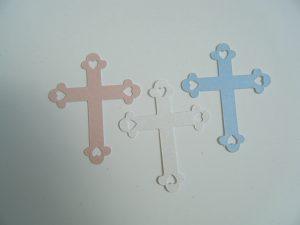 Die cut Crosses